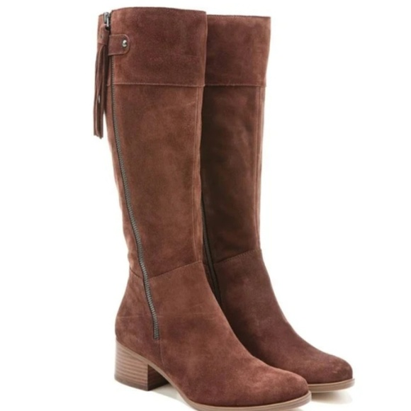 Naturalizer Demi Leather Riding Boots